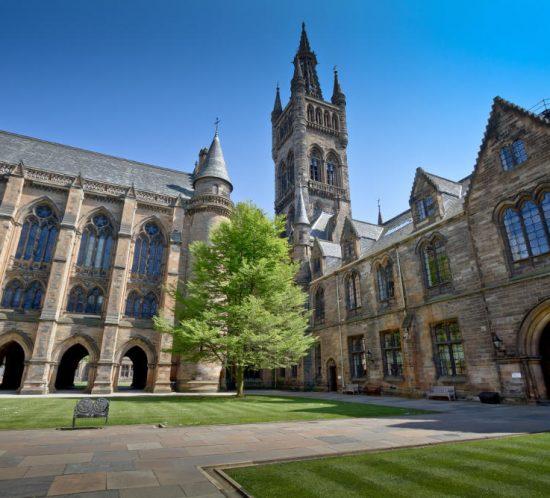 Gothic university campus
